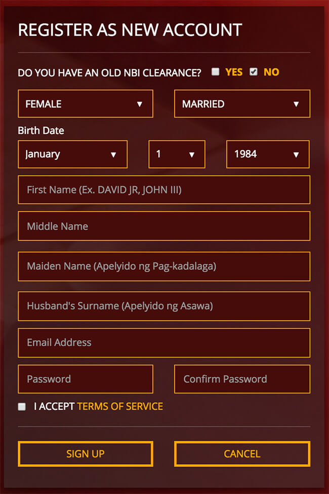 How To Change Last Name In Nbi Clearance For Married Women