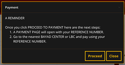 How To Apply NBI Clearance Online 2019 - Payment