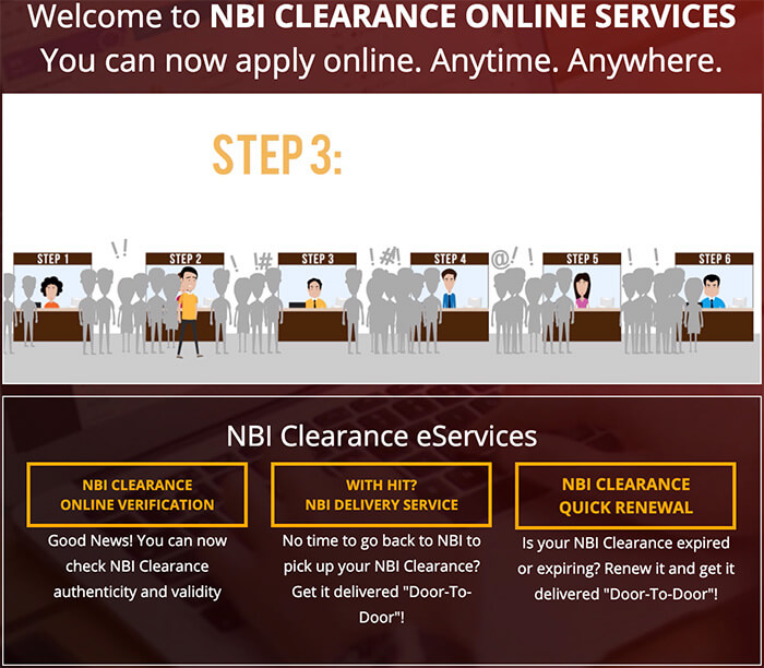 NBI Clearance Online Quick Renewal