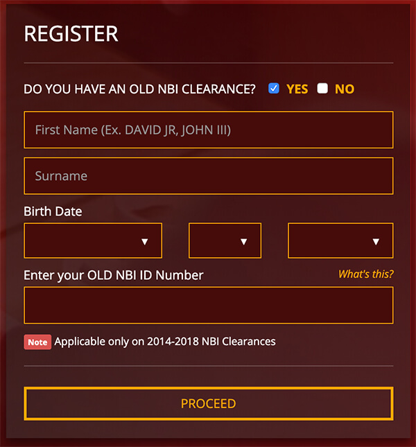 NBI Clearance Renewal - How To Renew Your NBI Clearance - Register